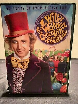 Willy Wonka and the Chocolate Factory (DVD, 2011, 40th Anniversary) - Used
