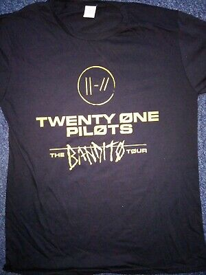 Twenty one pilots 2019 UK  tour shirt.Size large.