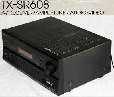 Onkyo TX-SR608 Receiver amplifier, 7.2 CH. Beautiful with box, remote & manual.