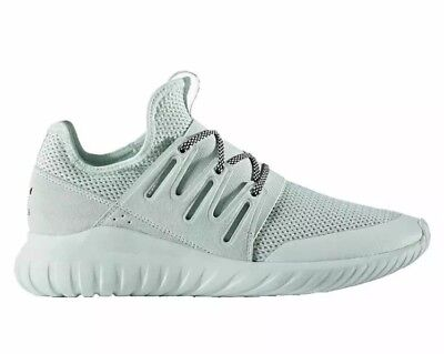 official photos c28e1 57254 Adidas Tubular Radial Men s Running Shoes Ice Mint Green S76717 Size 5.5
