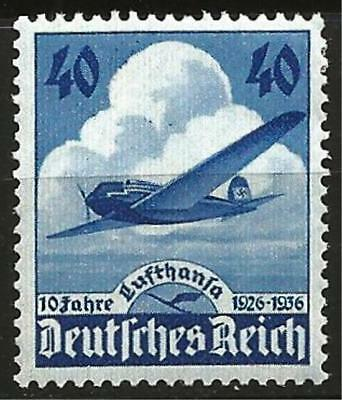 Germany (Third Reich) 1936 MH - 10 Yrs Lufthansa Heinkel He 70 'Blitz' Airplane