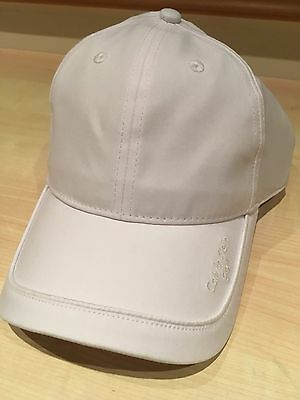 663d1ae9894 CALVIN KLEIN MENS Microfibre Baseball Cap - One Size Golf Hat White ...