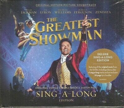 The Greatest Showman 2 CD Deluxe Sing-A-Long Edition - Brand New & Sealed