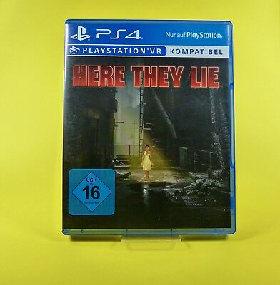 Here They Lie - PlayStation 4 - PS4 Spiel - USK Version