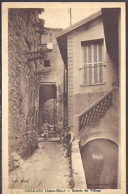FRANCE -- COARAZE ( A.-M.) -- CPA -- Entrée du Village