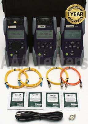 JDSU Acterna OMK-55 SM Fiber Optic Loss Test Kit OLS-55 OLP-55 OLA-55 OMK55