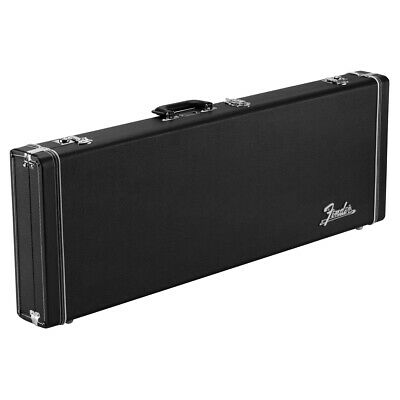 Fender Classic Series Wood Hard Case for Stratocaster or Telecaster in Black