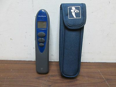 Radiodetection Fibermatch Receiver Fiber Optic Cable Tester Matcher Used