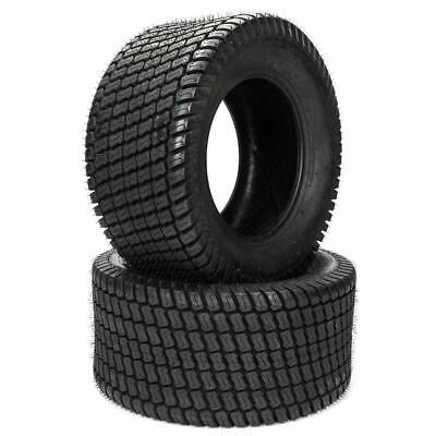 Autoforever Set of 2 20X10.00-8/20x10x8 4 Ply Turf Tires for Lawn & Garden Mower