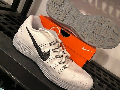 another chance 49153 73e9e Nds Rare Nike Lunartempo Lunar Tempo Flyknit Trainer White Sz 11