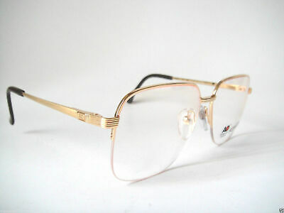 American Optical 59-15 20K Gold Plaited AO 9319 Frames H.Rimless Vintage Mens