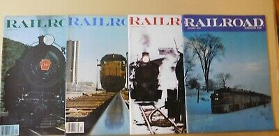 Railroad Magazine Complete Year 1976 12 issues