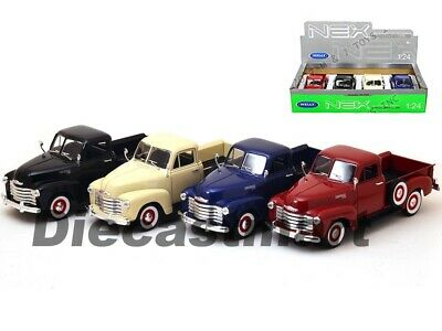1953 Chevrolet 3100 Pick Up Truck 1:24 Diecast Model Car By Welly 22087 New