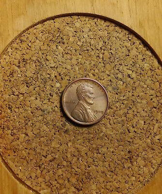 """1909 VDB Lincoln Wheat Cent Penny LH850 OLD """"TUCK"""" AU FREE FAST SHIPPING"""