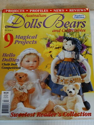 Dolls Bears Collectables Magazine Vol 8 No 4