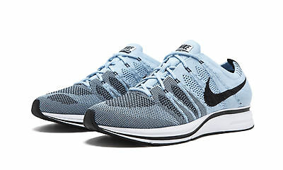 bd60347be50b NIKE FLYKNIT TRAINER Mens Running Shoes Cirrus Blue Black White ...