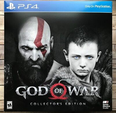 God Of War Collector'S Edition Sony Playstation 4 Ps4 Brand New