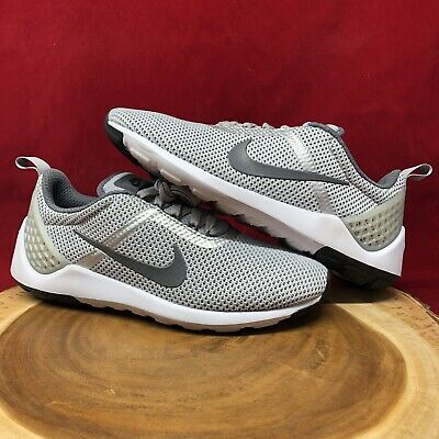 premium selection d24c1 b7661 NIKE LUNARESTOA 2 ESSENTIAL, 811372-002 Gray Men's Running Shoes Size 8.5  Max