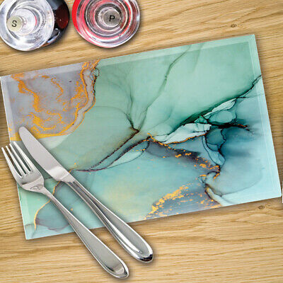 Glass Placemats Digital Printed x 4 - Made By Premier Range