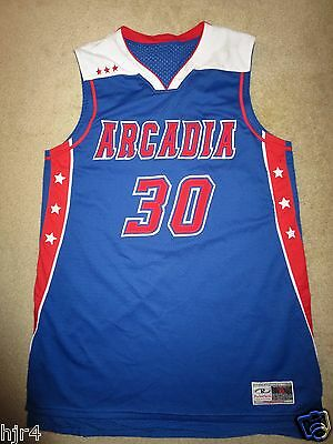 Arcadia High School Titans #30 Basketball Game Used Jersey XL