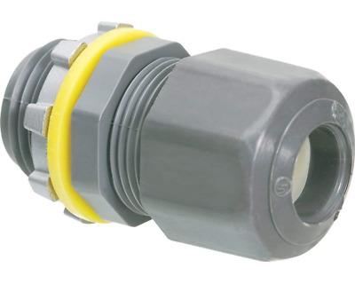 1/2-Inch Strain Relief Electrical Cord Connector, 10-Pack