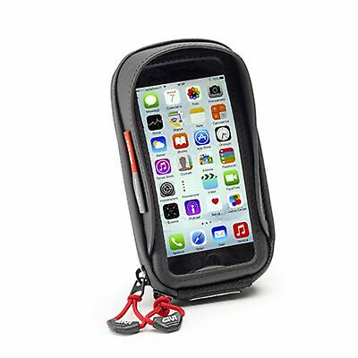 GIVI S956B Waterproof Smartphone Holder (Opitimise For Iphone And Galaxy S) - DP