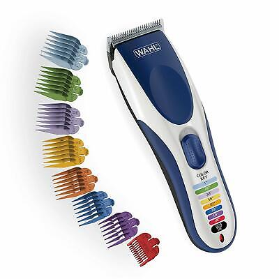 WAHL COLOURPRO Cordless Colour Coded Home Haircutting Kit Color Pro Clipper 9649