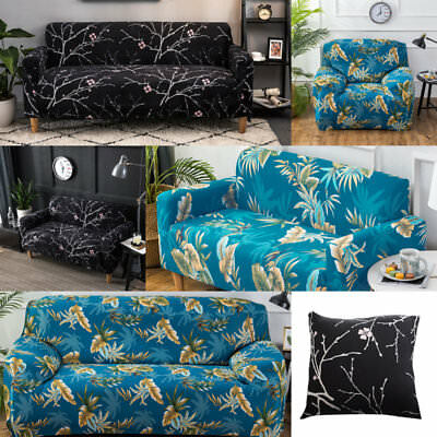 Stretch Fit Sofa Cover Lounge Couch Removable Slipcover Washable 1 2 3 Seater.