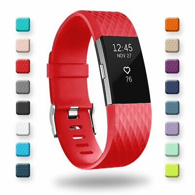 For Fitbit Charge 2 Diamond Replacement Wristband Wrist Strap Watch Band Parts