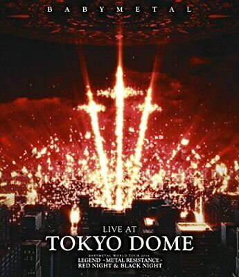 Babymetal DVD LIVE AT TOKYODOME Normal Edition Early purchase benefits available