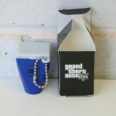 Grand Theft Auto Gta 5 V - Promo Rockstar Viewfinder Keychain - Purple