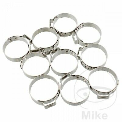 JMP Band Clamp 26.4MM Width 7MM Stainless Steel x10pcs