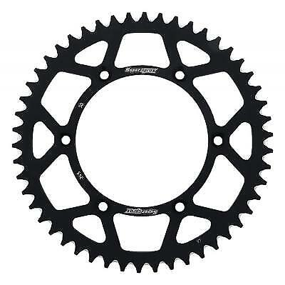 Supersprox Aluminium Black Rear Sprocket 520 50 Teeth Yamaha YZ 250 F A 2010