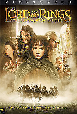 The Lord of the RingsThe Fellowship of the Ring Widescreen DVD 2 Disc Set SEALED
