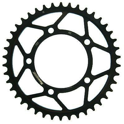 Supersprox Steel Black Rear Sprocket 525 42 T Aprilia TUONO 1100 V4 RR H 2017