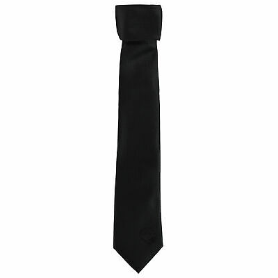 Manchester City Polyester Skinny Tie Black Football Mens