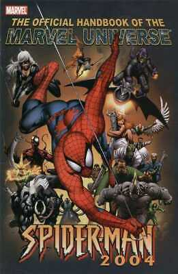 The Official Handbook Of The Marvel Universe 2004 Spider-Man