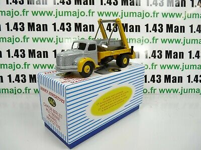 DT102 Voiture réédition DINKY TOYS atlas : 34C Camion Berliet Multibenne Marrel