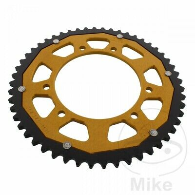 ZF Dual Gold Rear Sprocket (52 Teeth) Rieju MRX 50 2004-2005