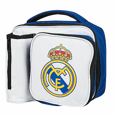 f1eba0a23 Real Madrid Crest Football Sports Lunch Bag Bottle Holder