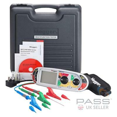 *NEW* Megger MFT1711-BS Multifunction Tester - Includes Calibration + Accessorie
