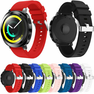 Soft Silicone Sport Band Bracelet Strap for Samsung Gear S2 Classic / Frontier