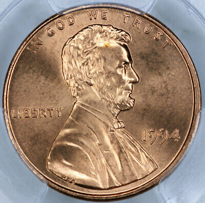 1994 PCGS MS66RD Lincoln Cent