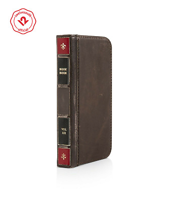 finest selection 71461 817ec TWELVE SOUTH BOOKBOOK iPhone SE/5/5s leather wallet case display stand brown