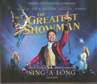 The Greatest Showman 2 CD Deluxe Sing-A-Long Edition - Brand New