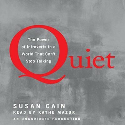 Quiet: The Power of Introverts in a World That Can't Stop Talking -AudioBook