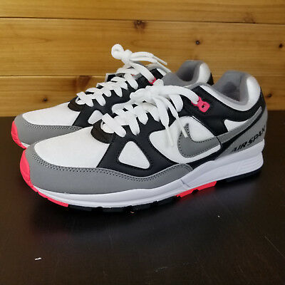 3a72783f587ba Nike Air Span II Mens New Sneakers Men Black Solar Red White Shoes  AH8047-005