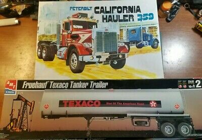 SEMI TRUCK TRAILER model kits