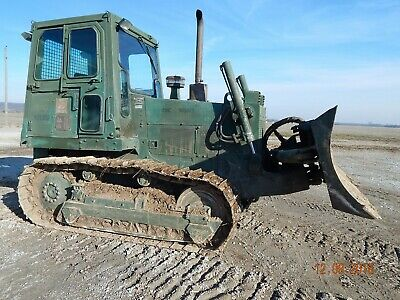 Case 1150E bulldozer military dozer loader