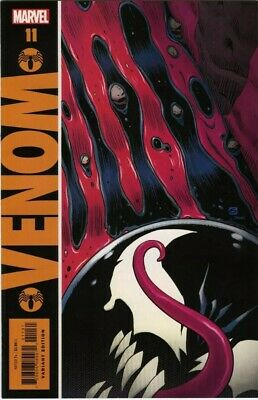 Venom #11 Variant Dave Gibbons Watchman Homage Marvel Comics Cates NM 2018